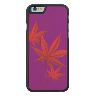 Autumn Carved® Maple iPhone 6 Case