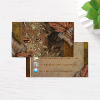 Autumn Wood Nymph Profile Cards