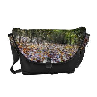 Autumn Woodland Courier Bag