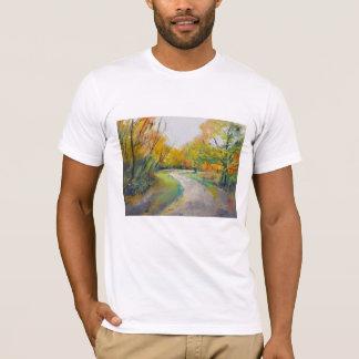 Autumn Woodland Path T-Shirt