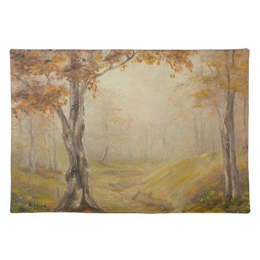 Autumn Woods Placemat