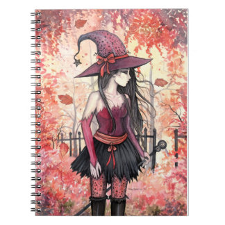 Autumn Woods Witch Notebook