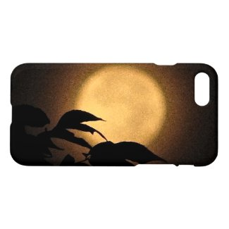 Autumn Yellow Moon iPhone 7 Case