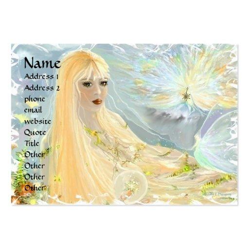 Autumnal Equinox Business Card Template
