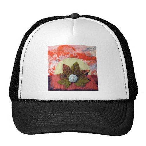 Autumnal Equinox Sunset - collage Trucker Hat