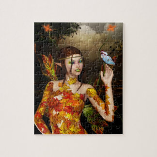 Autumnal Fae Jigsaw Puzzle