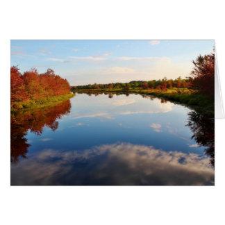 Autumnal Hues at Pushaw Stream Card