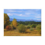 Autumnal Idaho Stretched Canvas Print