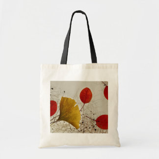 Autumnal leaves tote bag