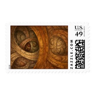"""Autumnal"" Postage Stamp"
