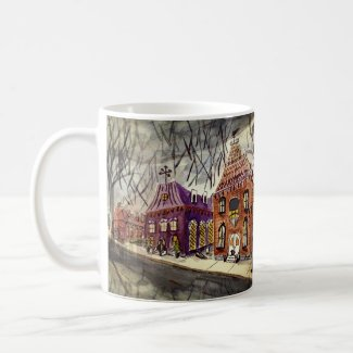 Autumnal Scene Coffee Mug