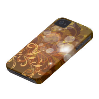 Autumnal swirls and lights blackberry bold cover