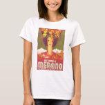 Autumno A Merano Vintage Travel Poster T-Shirt
