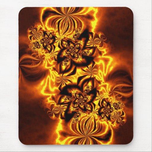 Autumn's Ablaze Mousepads