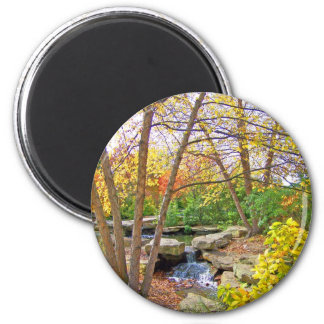 Autumn's Beauty 2 Inch Round Magnet
