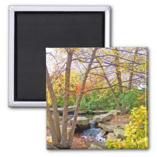 Autumn's Beauty 2 Inch Square Magnet