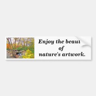 Autumn's Beauty Bumper Sticker