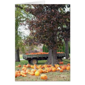 Autumn's Bounty I Card