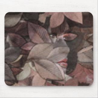 Autumn's Face Mouse Pad