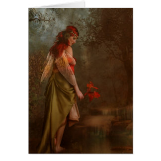 autumns fairy card