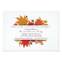 Autumn's Gifts Invitation