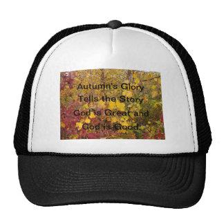 Autumn's Glory Mesh Hat