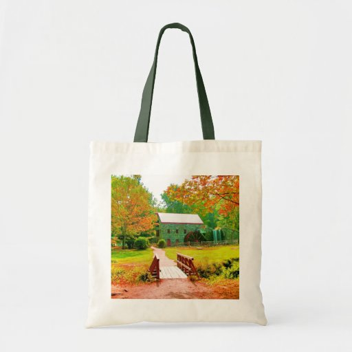 AUTUMN'S GLOW GROCERY TOTE BAG