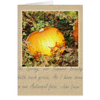 Autumn's Grace Stationery Note Card