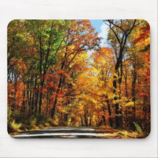 Autumn's Jewels - Mousepad mousepad