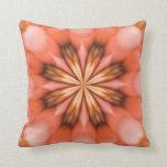 Autumn's petals throw pillows