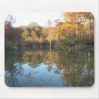 Autumn's poetry mouse pad