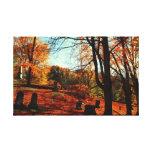 Autumns Rest Stretched Canvas Print