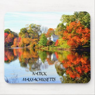 AUTUMNS SPLENDOR mousepad