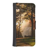 Autumns Waterfall Mist iPhone 5 Wallets