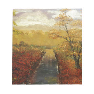 """""""Autum's Approach"""" by Jack Lepper Memo Pads"""