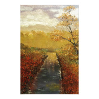 """""""Autum's Approach"""" by Jack Lepper Customized Stationery"""