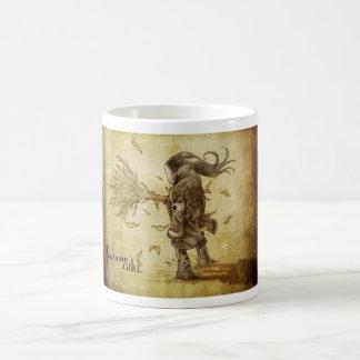 Autums Girl Coffee Mugs