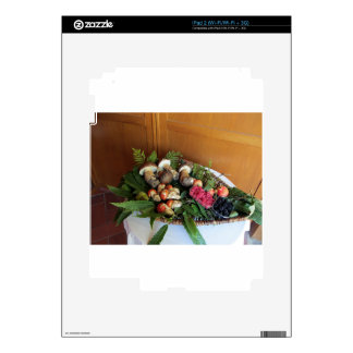 Autumun composition decal for the iPad 2