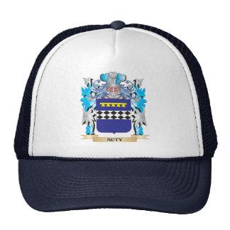 Auty Coat Of Arms Mesh Hats