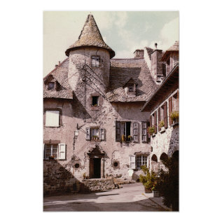 Auvergne House Poster at Zazzle
