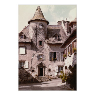 Auvergne House Poster