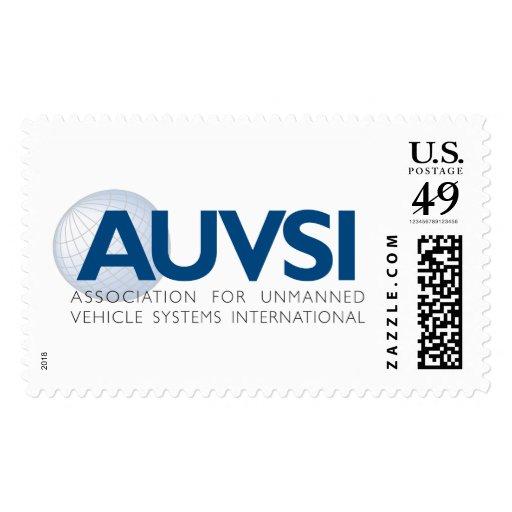 AUVSI Logo Postage