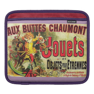 Aux Buttes Chaumont Jouets iPad sleeve