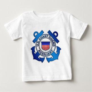 Auxiliar del guardacostas de los E.E.U.U. Playera De Bebé