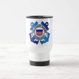 Auxiliar del guardacostas de los E.E.U.U. Taza De Viaje