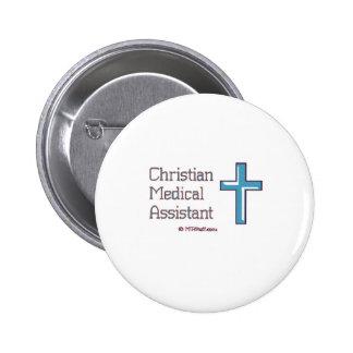 Auxiliar médico cristiano pins