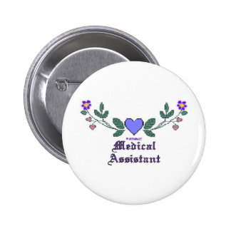 Auxiliar médico P Crossstitch Pins