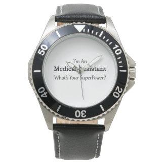 Auxiliar médico relojes de pulsera