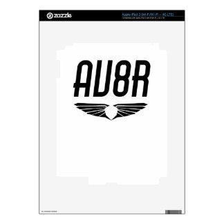 AV8R - Aviators & Pilots Wing Design Decals For iPad 3