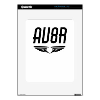 AV8R - Aviators & Pilots Wing Design Skin For The iPad
